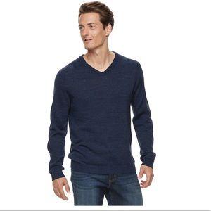 Apt 9 Navy wool blend sweater